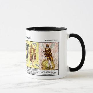 Tasse des genoux de l'abeille
