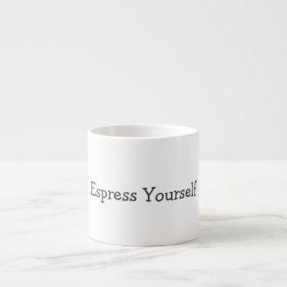 Tasse d'Espress vous-même