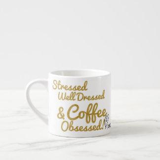 Tasse d'Expresso hantée par café