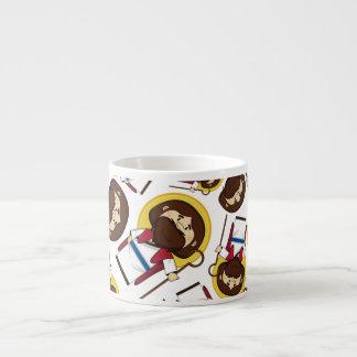 Tasse d'Expresso modelée par Jésus-Christ Tasses Expresso