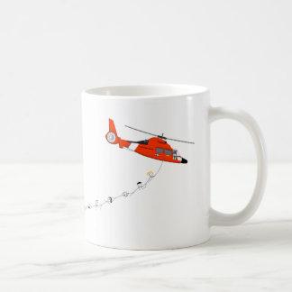 Tasse d'hélicoptère de la garde côtière