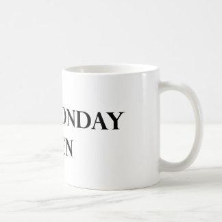 Tasse d'hommes de lundi