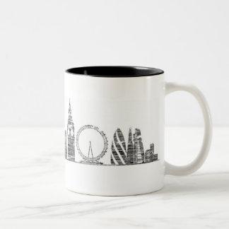 Tasse d'horizon de Londres