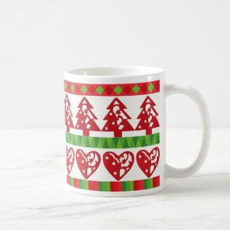 Tasse d'icône de Noël
