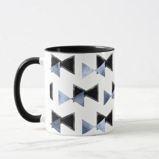 tasse d'impression de forme de triangle