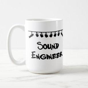 Tasse d'ingénieurs du son