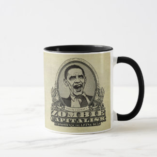 Tasse d'Obamanomics de capitalisme de zombi