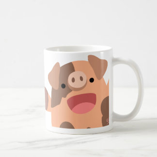 Tasse d'Oinky : un groupe de piggies