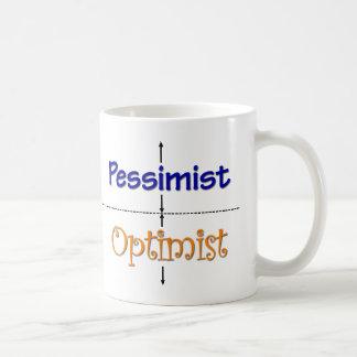 Tasse d'Optimiste-Pessimiste