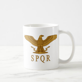 Tasse d'or de SPQR Eagle