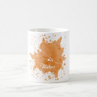 Tasse d'orange de Taureau