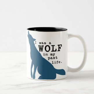 Tasse drôle de loup