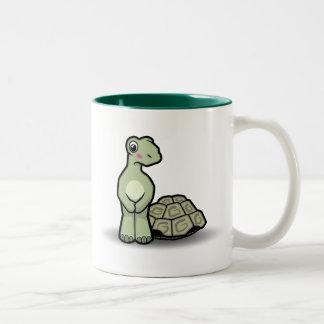 Tasse drôle de tortue de SHELL-moins de bande dess