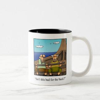 Tasse drôle d'humour de guerriers de Viking