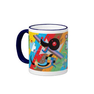 Tasse du chiot de Kandinsky