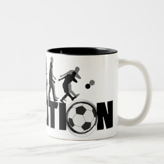 Tasse du football d'évolution
