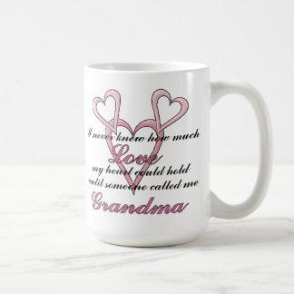 Tasse du jour de mère de grand-maman (je n'ai