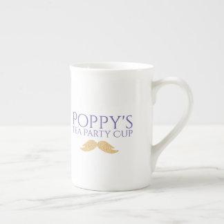 Tasse du thé du pavot PERSONNALISABLE