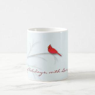 Tasse Editable cardinale rouge