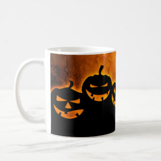 Tasse éffrayante de Jack-o'-lantern Halloween