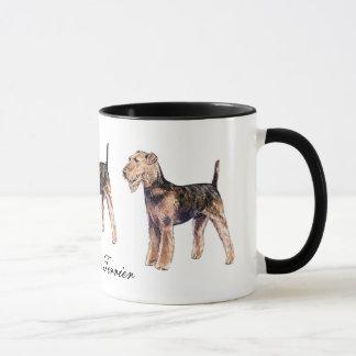 Tasse en céramique d'Airedale Terrier