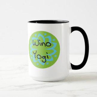 Tasse en céramique de yogi de Wino