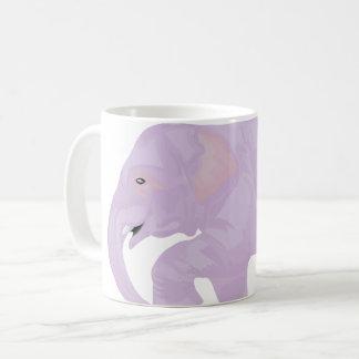 Tasse en pastel d'éléphant