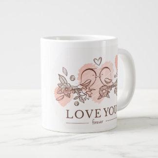 """Tasse enorme de """"amour"""""""
