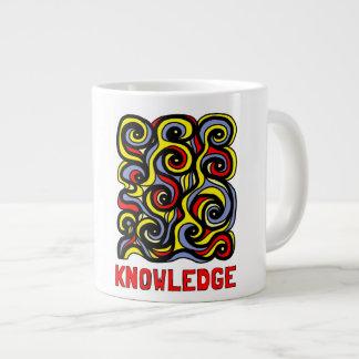 """Tasse enorme de la """"connaissance"""""""