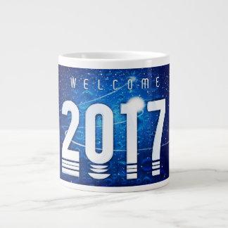 Tasse enorme spéciale de nouvelle année