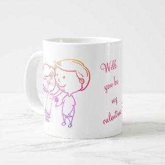 Tasse enorme spéciale de Valentine