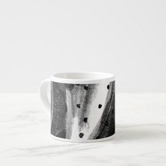 Tasse Expresso Cactus noir et blanc