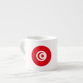 Tasse Expresso Drapeau de la Tunisie