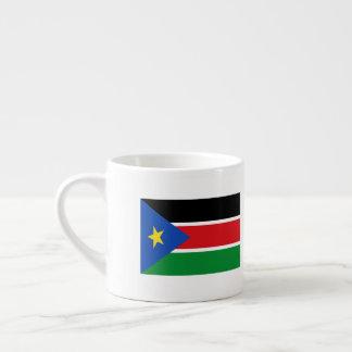 Tasse Expresso Drapeau du sud du Soudan