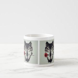Tasse Expresso il effiloche loup