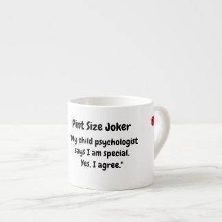Tasse Expresso Joker de taille de pinte : Special de psychologue