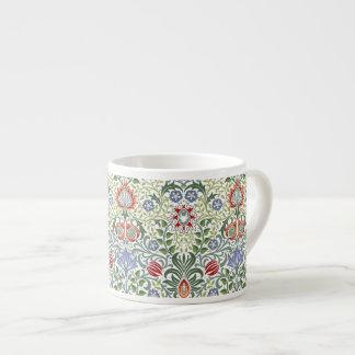 Tasse Expresso Motif vintage persan floral de William Morris