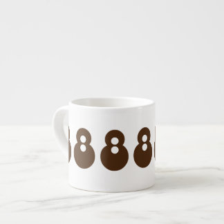 Tasse Expresso Pour toujours Brown