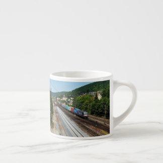 Tasse Expresso Train de marchandises dans les Gemünden au Main