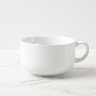 Tasse faite sur commande de soupe à porcelaine du mug à soupe