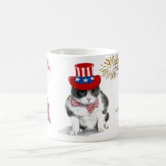 tasse : Felix courageux, le chat, sur 4 juillet