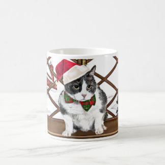 tasse :  Felix, le chat, à Noël