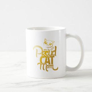 Tasse fière de maman de chat