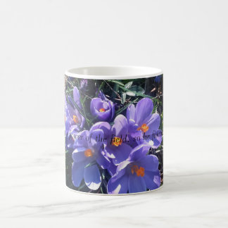 Tasse florale