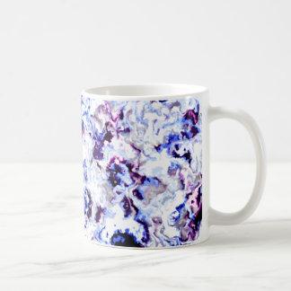Tasse florale de concepteur
