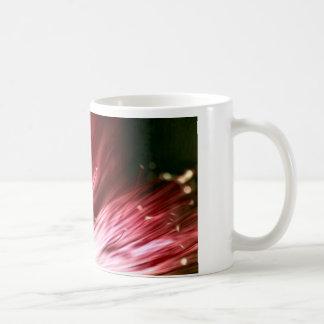 Tasse florale foncée