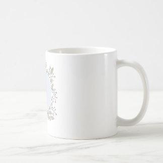 Tasse florale personnalisée
