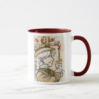 Tasse folle de chapelier de Steampunk