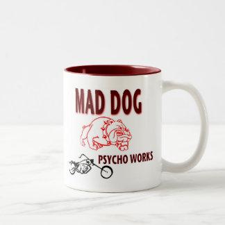 Tasse folle de chien