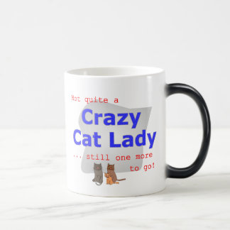 Tasse folle de Madame de chat